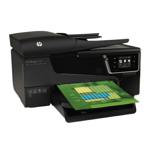 HP OfficeJet 6600 e-All-in-One Bild