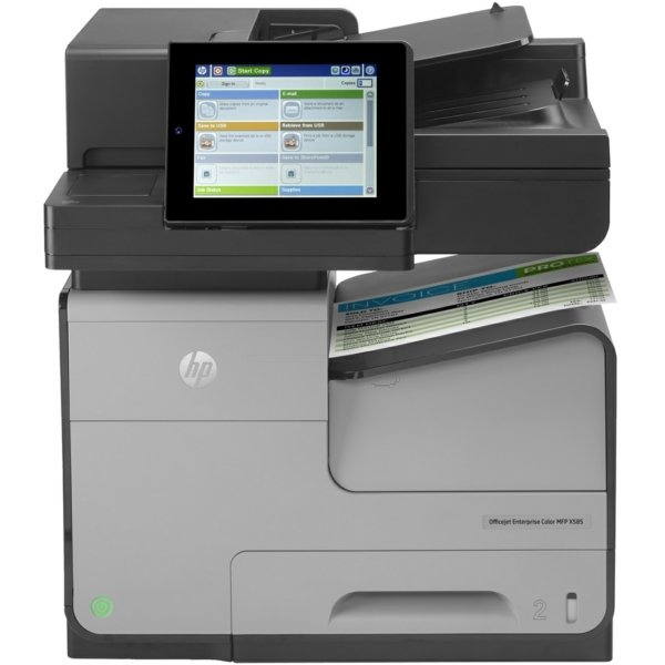 HP OfficeJet Enterprise Color X 585 dn MFP Bild