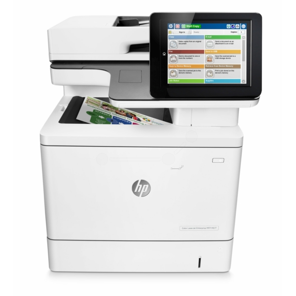 HP Color LaserJet Enterprise MFP M 577 dn Bild