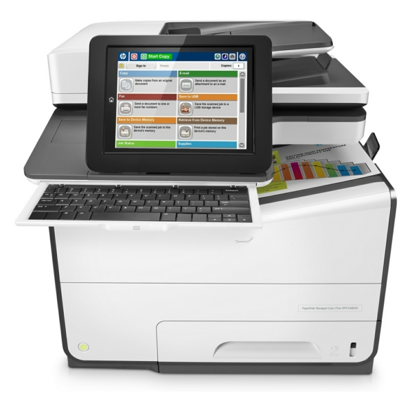 HP PageWide Managed Color Flow MFP E 58650 dn Bild